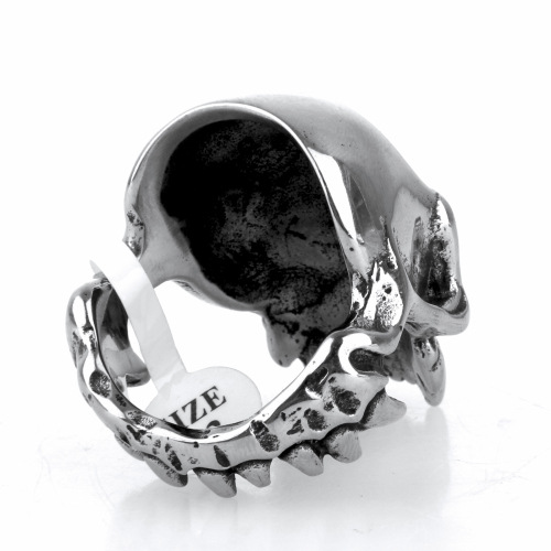 Halloween skull ring