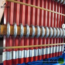 Máquina de rodillo de hojas de tejas de tejas de acero de color