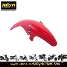 L'antiparasitage avant peint en rouge à moto ABS s'adapte à Ybr125