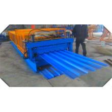 Doppelschicht-Rollformmaschine für Dachblech und Deckboden