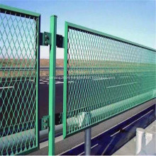 Powder Coated Diamond Expanded Metal Mesh Fence