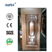 Checkered Design Steel Door Skin with Color (RA-C021)