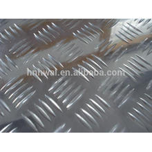 hot selling high quality and competitive price five-bar chequered aluminium sheet