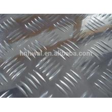 Горячее продавая высокое качество и конкурентоспособная цена 5-бар клетчатый алюминиевый лист