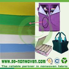 Tissus colorés de tapisserie d'ameublement de la Chine non tissés