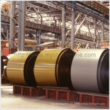 Hoja de cubierta acanalada Usado PPGI Acero revestido de color (bobina galvanizada recubierta de color) con recubrimiento de PVDF / PE