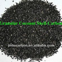Carvão ativado Shell de coco granulado para mineração