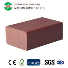 Balaustre compuesto de madera impermeable de la barandilla para el al aire libre (HLM86)