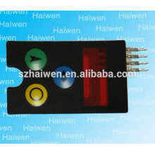 LCD display LEXAN adhesive custom membranes with Arrows