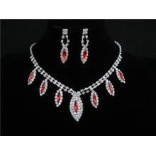 Африканский Красный Фиолетовый Синий Ну Вечеринку Подарок Последний Бисер Ожерелье Серьги Кольцо