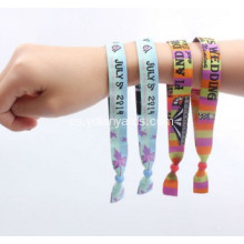 Nice Festival Fabric Wristbands Dye Sublimation