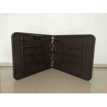 6FT Hot Sale Outdooor Chocolate Rattan Design Пластиковый складной стол