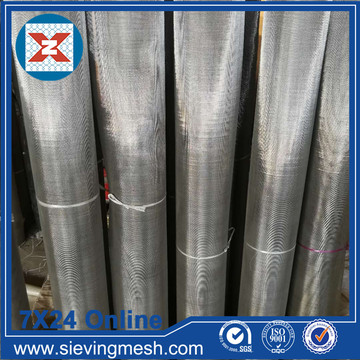 Geweven Dutch Weave Stainless Steel Mesh