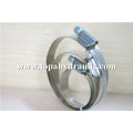 Ring hold down quick release hose swivel clamp