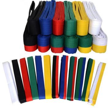 Taekwondo Belt, Single/Double Color