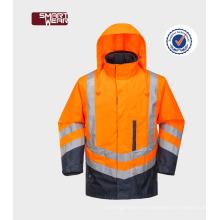 Alta visibilidad Clase 2 Ropa de trabajo Seguridad reflexiva Hola vis uniformes construcción ropa de trabajo profesional