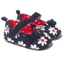 Moda Bowknot Sapatos de Bebê Sola Macia 0-1 Ano Mocassins Infantis