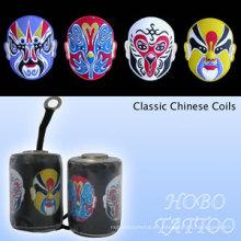 Profesional chino clásico máquina de tatuaje bobinas