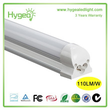 CE ROHS Aleación de aluminio llevó el tubo llevado t5 AC 85-277V 12W 20W 24W t5 llevó la luz del tubo T5 LED Emergencia ligera