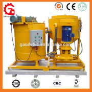 grouting matched equipment electric motor cement grout mixer