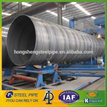 Spiralgeschweißte Stahlrohr / API 5L PSL1 GR.B Spiralstahlrohr