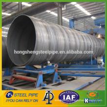 spiral welded steel pipe/API 5L PSL1 GR.B spiral steel pipe