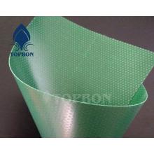 Hochwertige überzogene Streifen-PVC-Plane für Swimmingpool
