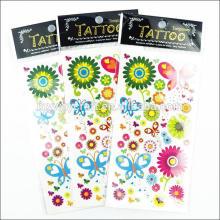 Профессиональная печать наклейки татуировки с сертификатом EN71