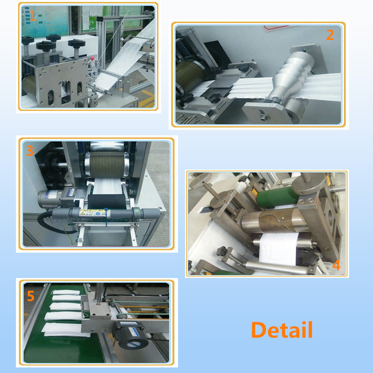 Fully Automatic Flat Mask Machine