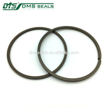 Brown PTFE Excavator Hydraulic Cylinder Wiper Seal