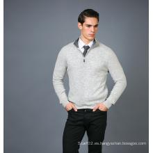 Suéter de la mezcla de la cachemira de la manera de los hombres 17brpv127