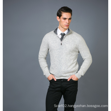 Men′s Fashion Cashmere Blend Sweater 17brpv127