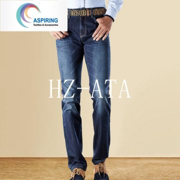 100% хлопок 10 унций Джинсовая ткань для модных джинсов