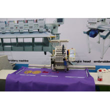 Las mejores ventas Wonyo Máquina de bordado computarizada de la cabeza sola para el bordado del casquillo, bordado de la camiseta, bordado de los zapatos, bordado de tela Wy1201CS