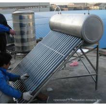 Chauffe-eau solaire à la bobine de cuivre (préchauffage du chauffe-eau solaire)