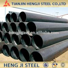Schwarz geschweißtes Stahlrohr (ERW Stahlrohr) mit Öl