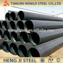 Preto Tubo de aço soldado (tubo de aço ERW) com óleo