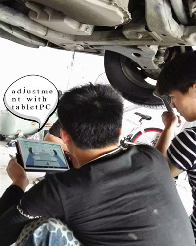 3d Four Wheel Alignment Instruction