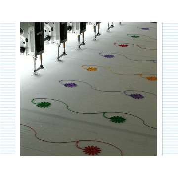 Flat Embroidery Machine for Leather/Cloth with Good Technology