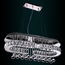 led modern crystal pendant chandelier light