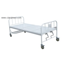 Spray Triple-folding bed with round tube head