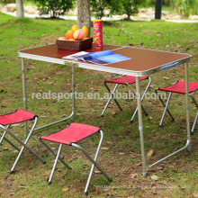 New Folding Aluminium Table Adjustable Folding Table Wholesale Picnic Table