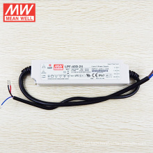 MEAN WELL LED Driver 40W 24V Waterproof IP67 Dimmable UL LPF-40D-24 with PFC Function