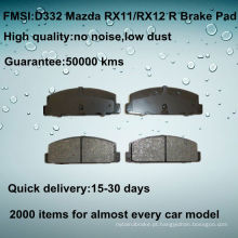 OE qualidade MAZDA 323 freio pad D332