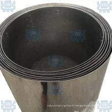 Couche d'isolation thermique au tungstène pour four à vide