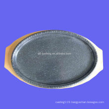 carbon steel enameled cake pan