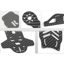 Profissional 3 K Sarja folha de fibra de carbono completo para zangão quadro cnc corte de fibra de carbono preço do quadro de folha 1mm 2mm 3mm 4mm 5mm 6mm