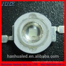 1w 3w UV diodo 365nm 395nm-400nm-410nm LED de 1W UV para instrumentos médicos y detección