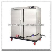 K291 2 portes électrique chauffe-plats en acier inoxydable pour la restauration