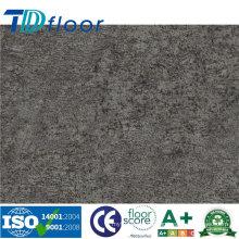 Suelo de piedra impermeable del vinilo del PVC del plan del Lvt del patrón de piedra